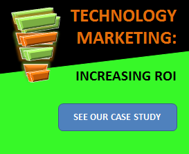 case study - technology marketing high roi - ad banner